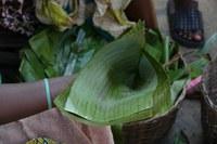 Blattverpackungen in Benin